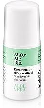 Парфюмерия и Козметика Натурален дезодорант с екстракт от алое вера - Make Me Bio Deo Natural Roll-on