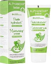 Парфюмерия и Козметика Детски хидратиращ флуид - Alphanova Baby Moisturizing Fluid
