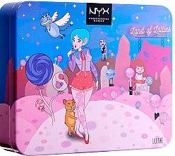 Парфюми, Парфюмерия, козметика Палитра сенки за очи - Nyx Professional Makeup Land of Lollies Shadow Palette