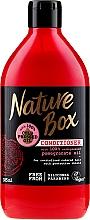 Парфюмерия и Козметика Балсам за боядисана коса с масло от нар - Nature Box Pomegranate Oil Conditioner