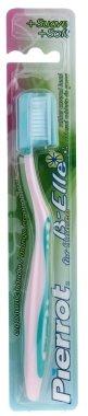 Дамска четка за зъби, розово-зелена - Pierrot Belle For Woman — снимка N1