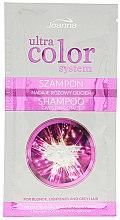 Парфюмерия и Козметика Тониращ шампоан за коса - Joanna Ultra Color System Pink Shade Shampoo (мостра)