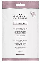 Парфюми, Парфюмерия, козметика Възстановяваща маска-шапка за коса - Brelil Bio Treatment Repair Mask Tissue