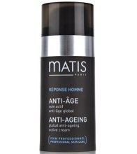 Парфюмерия и Козметика Активен антивъзрастов крем - Matis Reponse Homme Global Anti-Aging active cream