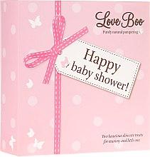 Парфюмерия и Козметика Комплект душ гел - Love Boo Happy Baby Shower (sh/gel/250ml + sh/gel/50ml)
