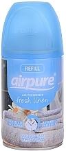 """Парфюмерия и Козметика Освежител за въздух """"Свежест"""" - Airpure Air-O-Matic Refill Fresh Linen"""