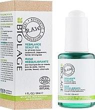 Парфюмерия и Козметика Ребалансиращо масло за скалп - Biolage R.A.W. Scalp Care Rebalance Scalp Oil