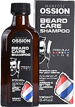 Парфюмерия и Козметика Шампоан за брада с арганово и бадемово масло - Morfose Ossion Beard Care Shampoo