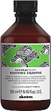 Парфюмерия и Козметика Обновяващ шампоан против стареене на скалп и коса - Davines Natural Tech Renewing Shampoo