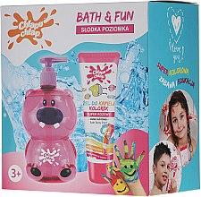 Парфюми, Парфюмерия, козметика Комплект - Chlapu Chlap Bath&Fun (sh/gel/500ml + gel/88ml)