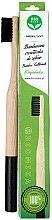 Парфюми, Парфюмерия, козметика Бамбукова четка за зъби, мека, черна - Biomika Natural Bamboo Toothbrush