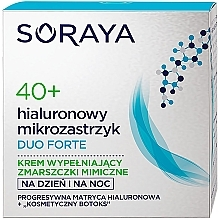 Парфюмерия и Козметика Подмладяващ крем за лице - Soraya Duo Forte Face Cream 40+