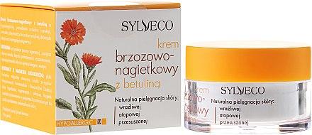 Дневен крем за лице с бреза и невен - Sylveco Birch And Marigold Day Cream With Betulin — снимка N1
