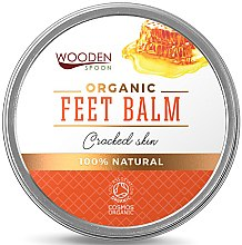 Парфюмерия и Козметика Балсам за крака - Wooden Spoon Feet Balm Cracked Skin