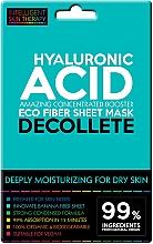 Парфюмерия и Козметика Хидратираща експрес-маска за деколте с хиалуронова киселина - Beauty Face IST Extremely Moisturizing Decolette Mask Hyaluronic Acid