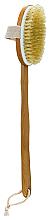 Парфюмерия и Козметика Четка за баня с дървена дръжка - Inter-Vion