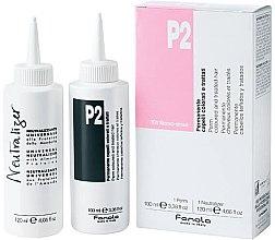 Парфюмерия и Козметика Комплект за химическо къдрене на боядисана коса - Fanola P2 Perm Kit for Coloured and Treated Hair
