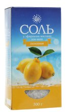 Парфюми, Парфюмерия, козметика Соль морская с эфирным маслом лимон - Пълничко бебе