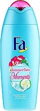 Парфюмерия и Козметика Душ гел с екстракт от краставица и фрезия - Fa Summertime Moments Shower Gel
