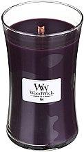 Парфюмерия и Козметика Ароматна свещ в чаша - WoodWick Hourglass Candle Fig