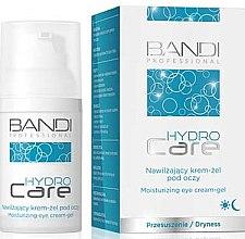 Парфюми, Парфюмерия, козметика Хидратиращ гел-крем за околоочна зона - Bandi Professional Hydro Care Moisturizing Eye Cream-Gel