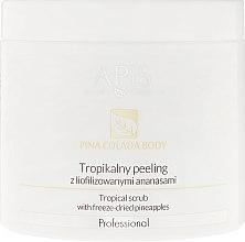 Парфюмерия и Козметика Тропически скраб с лиофилизирани ананаси - Apis Professional Pina Colada Body Tropical Scrub