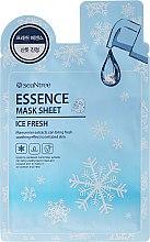 Парфюми, Парфюмерия, козметика Охлаждаща памучна маска за лице - SeaNtree Ice Fresh Essence Mask Sheet