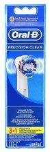 Парфюмерия и Козметика Комплект сменяеми накрайници за електрическа четка за зъби, 4бр. - Oral-B EB20 Precision clean