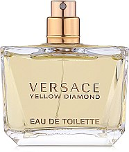 Парфюми, Парфюмерия, козметика Versace Yellow Diamond - Тоалетна вода (тестер без капачка)