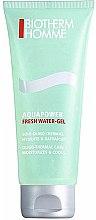 Парфюми, Парфюмерия, козметика Хидратиращ гел за лице с охлаждащ ефект - Biotherm Homme Aquapower Fresh Water-Gel (тестер)