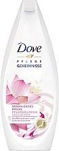 """Парфюмерия и Козметика Душ гел """"Цвят от лотос"""" - Dove Nourishing Secrets Brightening Shower Gel"""