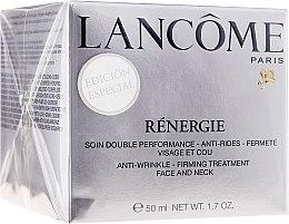 Парфюми, Парфюмерия, козметика Крем против бръчки - Lancome Renergie Anti-Wrinkle Firming Treatment Limited Edition