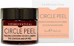 Парфюмерия и Козметика Крем за околоочния контур и устни - Surgic Touch Circle Peel Eye Contour And Lip Peel