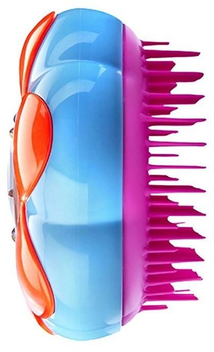 Четка за коса - Tangle Teezer Magic Flowerpot Pink and Blue Brush — снимка N2