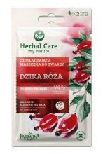 """Парфюми, Парфюмерия, козметика Подмладяваща маска """"Дива роза"""" - Farmona Herbal Care"""