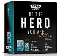Парфюми, Парфюмерия, козметика STR8 Live True - Комплект (афтършейв/50ml + дезодорант/150ml)