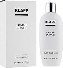 Парфюми, Парфюмерия, козметика Почистващо мляко за лице - Klapp Caviar Power Cleanser Milk