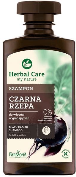 """Шампоан """"Черна ряпа"""" против косопад - Farmona Herbal Care"""