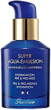Парфюмерия и Козметика Универсална защитна емулсия за старееща кожа - Guerlain Super Aqua Universal Emulsion