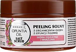 Парфюмерия и Козметика Солен скраб за тяло с органично масло от кактусова смокиня - GlySkinCare Opuntia Oil Salt Scrub