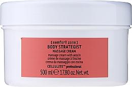Парфюмерия и Козметика Антицелулитен масажен крем за тяло c есцин - Comfort Zone Body Strategist Massage Cream