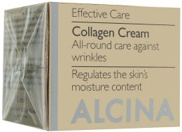Парфюми, Парфюмерия, козметика Антистареещ крем за лице с колаген - Alcina E Collagen Creme
