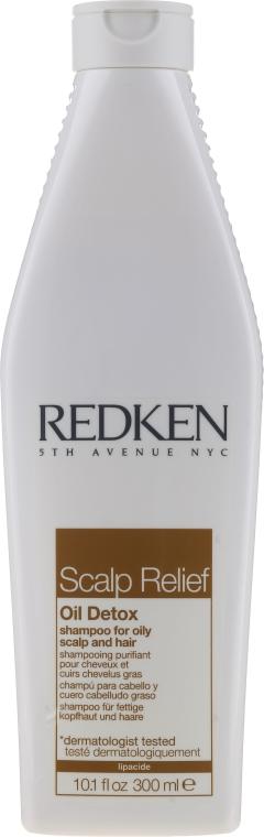 Шампоан за коса - Redken Scalp Relief Oil Detox Shampoo