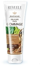 Парфюмерия и Козметика Нежен гомаж за лице - Revuele Delicate Face Gommage with Cafeine, Cosmetic Clay And Cinnamon Extract