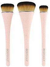 Парфюмерия и Козметика Комплект четки за грим, 3 бр - EcoTools 360 Ultimate Blend