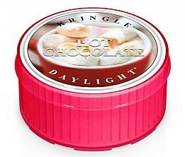 Парфюмерия и Козметика Чаена свещ с аромат на кокосово масло, мляко и ванилия - Kringle Candle Daylight Hot Chocolate
