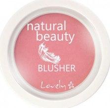 Парфюми, Парфюмерия, козметика Компактен руж за лице - Lovely Natural Beauty Blusher