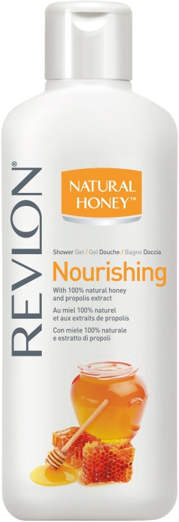 Подхранващ душ гел - Revlon Natural Honey Nourishing Shower Gel