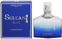 Парфюмерия и Козметика Jeanne Arthes Sultan Blue for Men - Тоалетна вода