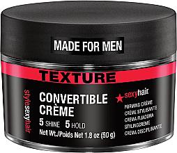 Парфюмерия и Козметика Текстуриращ крем за коса - SexyHair Style Convertible Forming Creme
